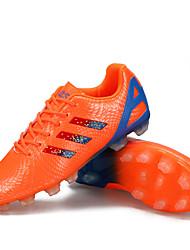 Men's Shoes Synthetic Athletic Shoes Soccer Sparkling Glitter / Lacing Black / Blue / Green / Orange