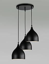 3 Lights E26/E27 Pendant Light ,  Modern/Contemporary for Living Room / Bedroom / Dining Room / Kitchen / Study