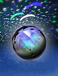 1pc Batterie stochastische Muster Nachtlicht Lampe Haus Projektor-Lampen brillante Diamant Nachtlicht