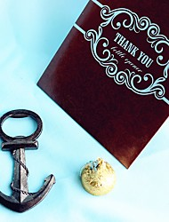 Beter Gifts®Recipient Gifts - 1Piece/Set - Summer Nautical Anchor Bottle Opener in Giftbag Wedding Favors