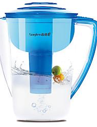 ménage bouteille d'eau de filtrage