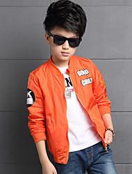 Boy's Spring/Autumn Fashion Coat Outerwear PU Leather Jacket