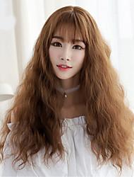 bouclés cheveux longs nouveaux arrivants synthétiques perruque de cheveux