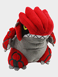 Pocket Little Monster Model Groudon Soft Plush Stuffed Doll Toy