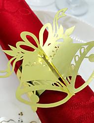 anéis de guardanapo( dePapel papelão,Vermelho / Rosa / Branco / Lilás / Dourado / Prata / Chocolate / Verde / Azul / Preto / Amarelo /