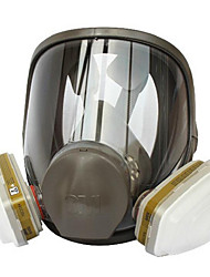 3m 6800 couverture complète / peinture en aérosol / formaldéhyde polyvalent / respirateur de poussière / masque
