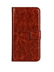 estilo carteira de luxo caso pu couro aleta com snap magnético e cartão para lumia 650 (cores sortidas) microsoft