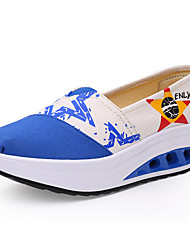 Women's Shoes Tulle Spring /Winter Wedges / Roller Skate Shoes / Creepers / Comfort / Flats Sneakers /
