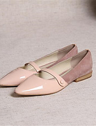 Women's Flats Summer Comfort PU Casual Flat Heel Others Pink Gray