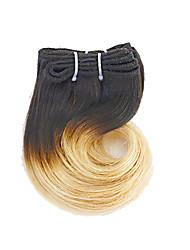 Ombre Indisches Haar Wellen 3 Monate 4 Stück Haar webt