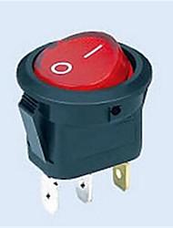 12v20a / switch chave oscilante / 20 milímetros buracos