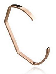 Alloy Gold Plated Adjustable Cuff Bangle Bracelet