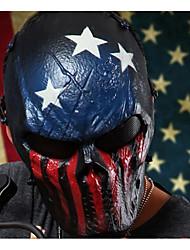 máscara de camuflagem esquelético protege todo o rosto