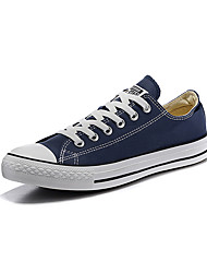Converse Chuck Taylor All Star Core Men's Shoes Canvas Outdoor / Athletic / Casual Sneaker Flat Heel Black / White/ Blue