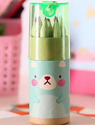 Cute Mini Bear 12 Colors Pencils (Random Colors)
