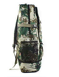 30 L Backpack Camping & Hiking Outdoor Waterproof / Multifunctional Camouflage Canvas