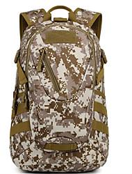 20 L mochila Acampar e Caminhar Ao ar Livre Multifuncional Preto / Castanho / Camuflagem Nailom Other