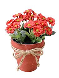 Silk Daisies Artificial Flowers
