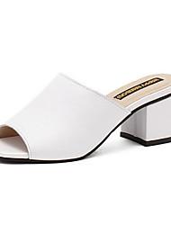 Women's Shoes PU Summer Wedges / Open Toe Sandals Outdoor / Office & Career / Dress Wedge Heel Others