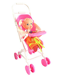 1487 Kelly Doll Accessories Mini Baby Stroller Sweet Dream House Without Baby Baby Bb Car Toy