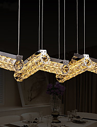 Dining Room Lamp LED Dining Pendant Lamp Five Crystal Pendant Lamp Five Lighting Bar Restaurant Hanging Lamps 8802