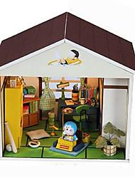 поделки модель собрана кабинного Nobita комната мультфильм