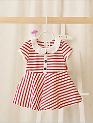 IDEA2016 summer new Korean female's infant girls dress striped dress skirts C806