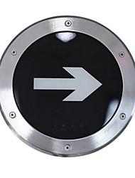souterrain lampe d'éclairage de secours en acier inoxydable sortie d'urgence (220v, diamètre 245)