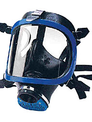 Panorama Single Tank with Microphone Face Masks (Blue)