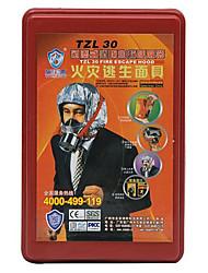 3c auto filtro de fuego tzl 30 incendios máscara de evacuación / respirador