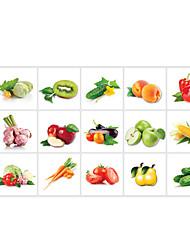 Floral / Nourriture Stickers muraux Stickers avion Stickers muraux décoratifs,pvc Matériel Amovible / RepositionableDécoration