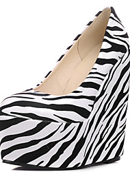 Women's Shoes Wedge Heel Pointed Toe Platform Pumps More Colors Available