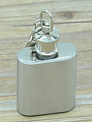 Stainless Steel Portable Small Flagon