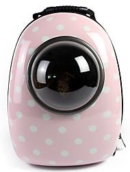 Katze / Dog Transportbehälter &Rucksäcke / Astronaut Kapselträger Haustiere Träger Wasserdicht / Tragbar / Atmungsaktiv PU-Ledergrün /