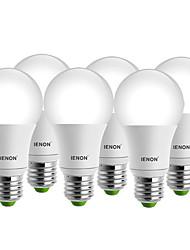 5W E26/E27 Круглые LED лампы A60(A19) 1 COB 400-450 lm Тёплый белый / Холодный белый Декоративная AC 100-240 V 6 шт.