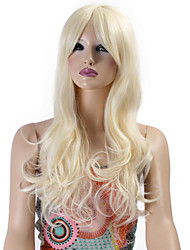 Synthetic Wigs Long Curly Wave Synthetic Hair Blonde Color Wigs For Women Cosplay Christmas Wig
