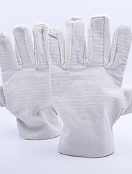 Double Thick Padded Canvas Gloves 24 Lines Fully Padded Catcher Canvas Gloves Industrial Protective Wear Gloves