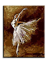 Pictures Painting By Numbers Hand Painted Oil Painting Wall Sticker Ballet Queen