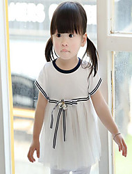 2016 summer new children's clothing wholesale Korean girls skirts infant princess skirt short sleeved dress