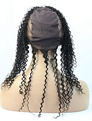 Human Hair Product 360 Circular Closure Natural Firm Fit High ponytail Easy Part Anywhere  360 Lace Frontal Wig Cap