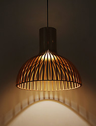 Chandeliers / Pendant Lights/ Modern/Hallway / Dining Room / Study Room/Office / Kids Room/Entry Wood/Bamboo