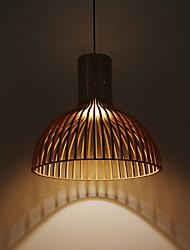 40w Lampe suspendue ,  Contemporain / Rustique / Plafonnier pour Ilôt de Cuisine Bois Fonctionnalité for Designers Bois/BambouSalle de