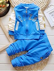 Boy's Cotton Clothing Set,Spring Striped