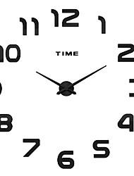 MQ - 006Large Size Creative Diy Wall Clock Art Background Wall Clock Modern Personality Quiet Bell