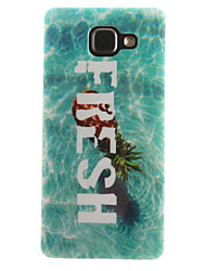 For Samsung Galaxy Case IMD / Pattern Case Back Cover Case Word / Phrase Soft TPU Samsung A7(2016) / A5(2016) / A3(2016) / A5 / A3