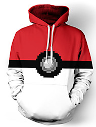 Inspirado por Pokemon Otros animado Disfraces Cosplay sudaderas Cosplay Estampado Top