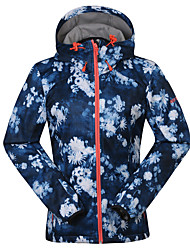 GSOU SNOW® Ski Wear Ski/Snowboard Jackets / Softshell Jacket / Hat Women's Winter Wear Polyester / Fleece Winter ClothingWaterproof /