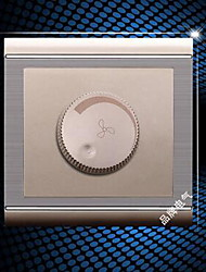 86 Series Wall Switch Champagne Brushed Stainless Steel Fan Speed Control Switch Dimmer Switch Genuine