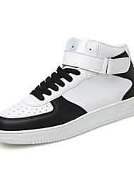 Men's Middle-top Shoes Casual/Travel/Outdoor Fashion Microfiber Board Shoes EU39-EU44