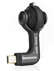 Saramonic GoMic Professional Mini Stereo Ball Microphone for Gopro Hero 4 3+ 3